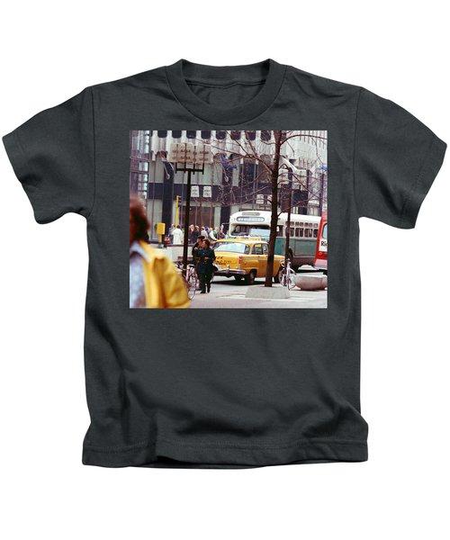 Colorful Transportation Kids T-Shirt