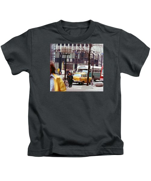 Colorful Transportation Kids T-Shirt