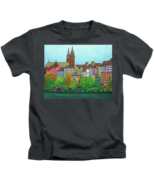 Basel, Colours Of Basel Kids T-Shirt