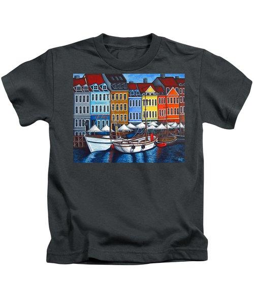 Colours Of Nyhavn Kids T-Shirt