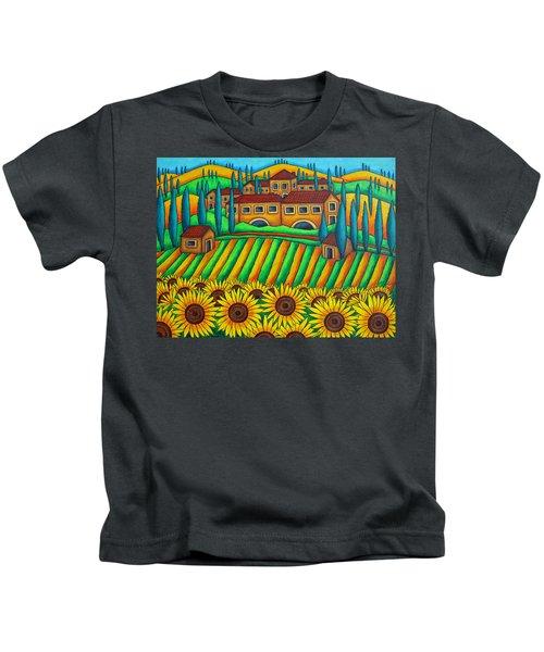 Colours Of Tuscany Kids T-Shirt