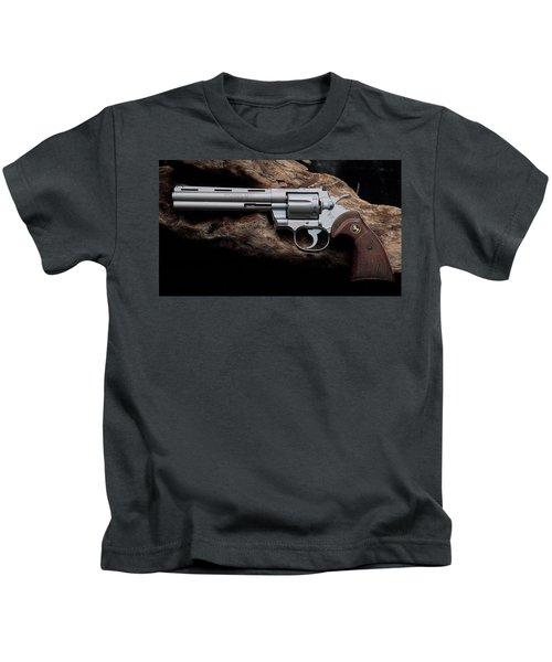 Colt Python Revolver Kids T-Shirt