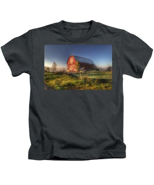 0009 - Columbiaville Red I Kids T-Shirt