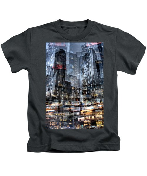 Columbus Circle Collage 1 Kids T-Shirt