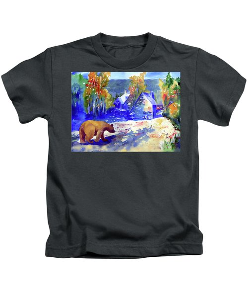Coming For Dinner At Rainbow Lodge Kids T-Shirt
