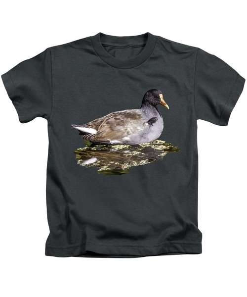 Common Gallinule Transparency Kids T-Shirt