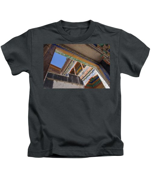 Composition 1, Thiksey, 2005 Kids T-Shirt