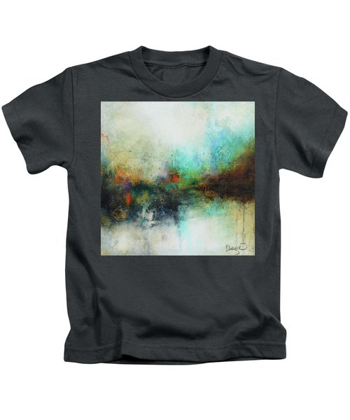 Contemporary Abstract Art Painting Kids T-Shirt