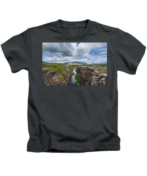 Continental Drift  Kids T-Shirt