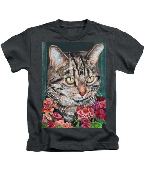 Cooper The Cat Kids T-Shirt