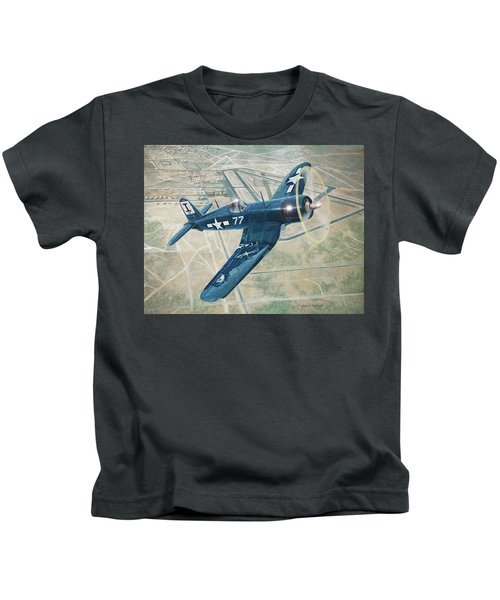 Corsair Over Mojave Kids T-Shirt