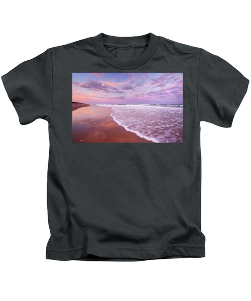 Cotton Candy Sunset. Kids T-Shirt