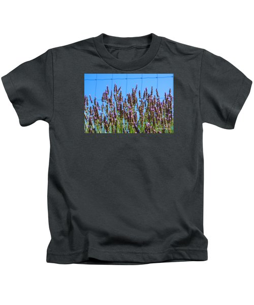 Country Lavender Iv Kids T-Shirt