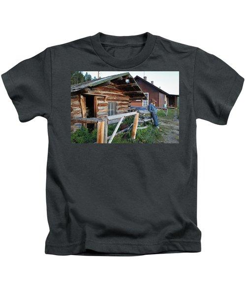 Cowboy Cabin Kids T-Shirt