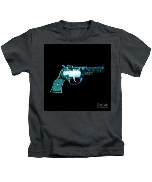 Cowboy Gun 001 Kids T-Shirt