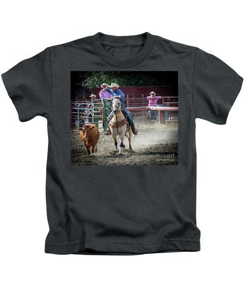 Cowboy In Action#2 Kids T-Shirt