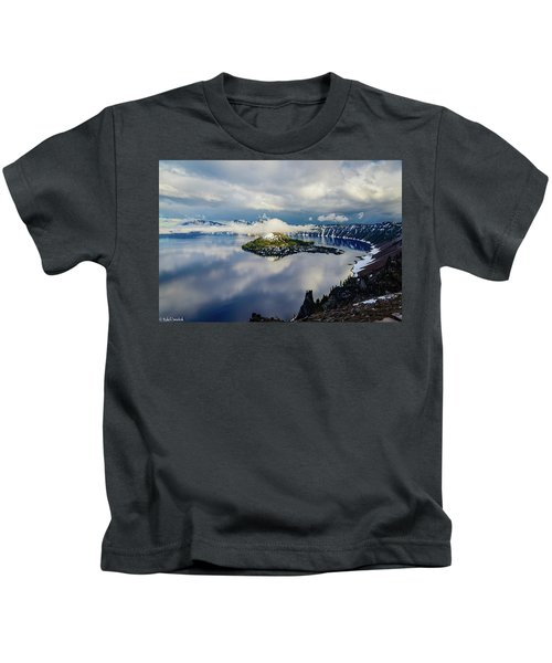 Crater Lake Storm Kids T-Shirt