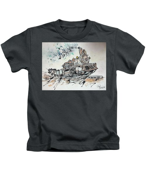 Crazy Train Kids T-Shirt