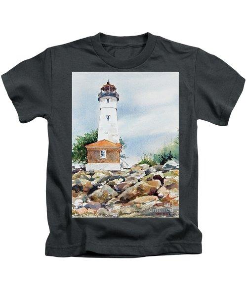 Crisp Lighthouse Kids T-Shirt