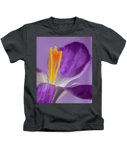 Crocus Stamens  Kids T-Shirt