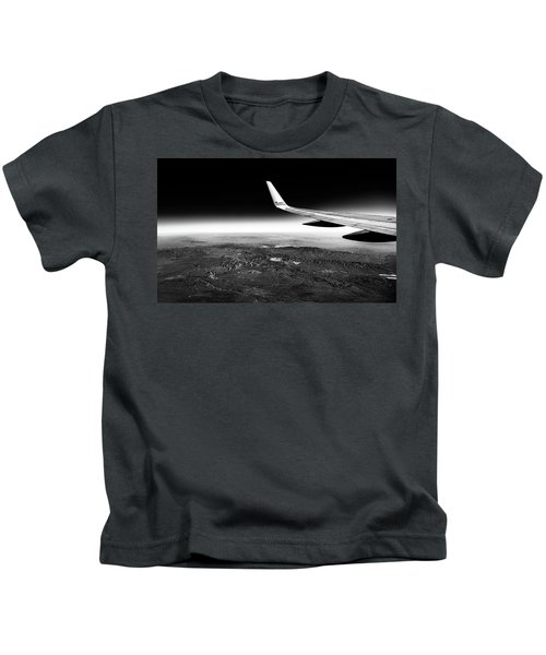 Cross Country Via Outer Space Kids T-Shirt