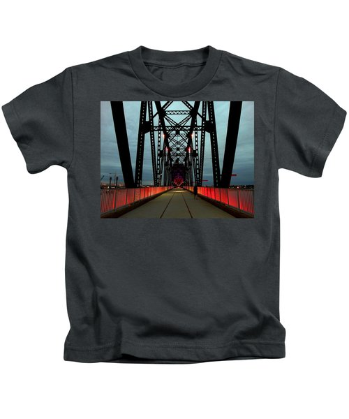 Crossing The Bridge Kids T-Shirt