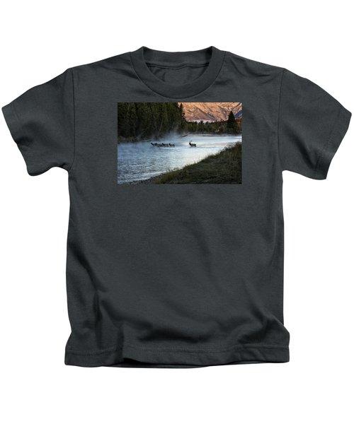 Crossing The River Kids T-Shirt