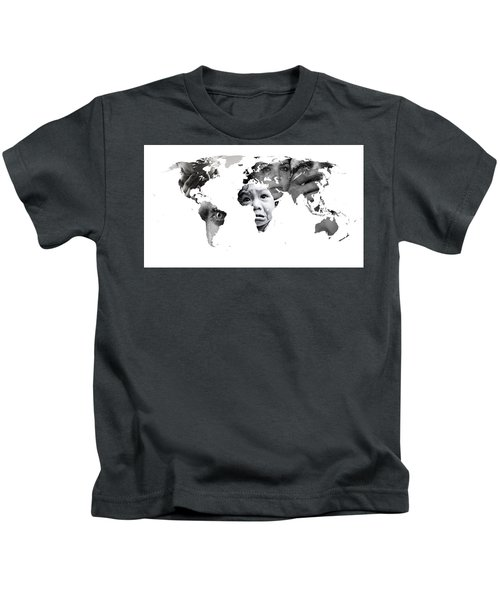 Crying Earth Kids T-Shirt