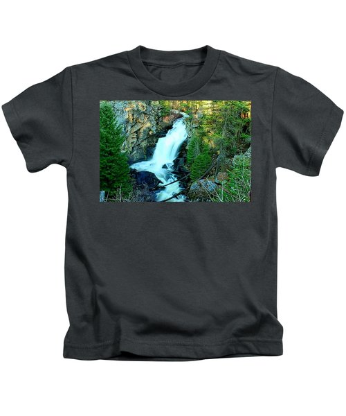 Crystal Falls , Washington Kids T-Shirt