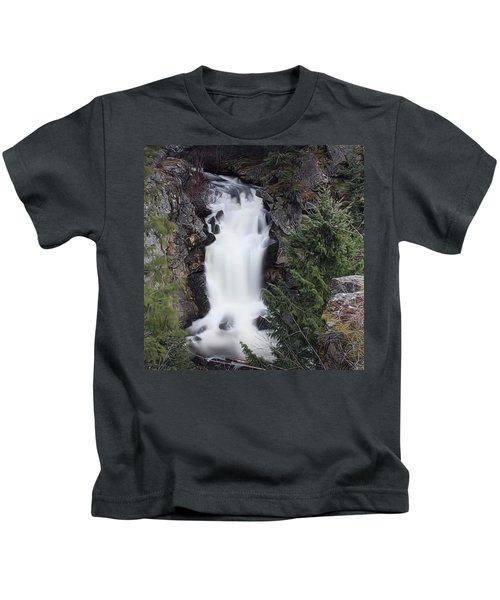 Crystal Falls , Wa Kids T-Shirt