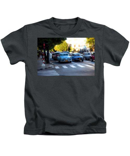 Cuba Street Scene Kids T-Shirt
