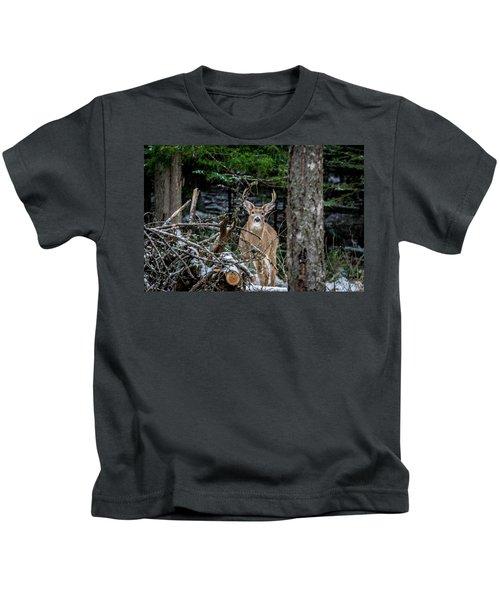 Curious Buck Kids T-Shirt
