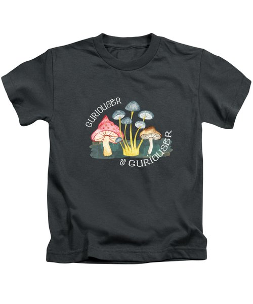 Curiouser And Curiouser Kids T-Shirt