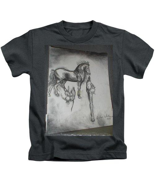 Da Vinci Study Kids T-Shirt
