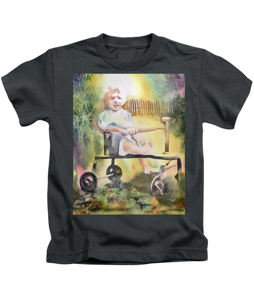 Dad Circa 1934 Kids T-Shirt