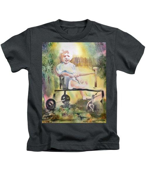 Dad Circa 1934 Kids T-Shirt