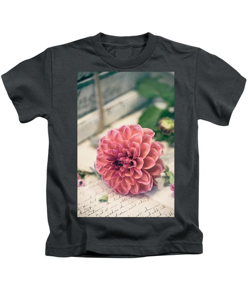 Dahlia Bloom Kids T-Shirt
