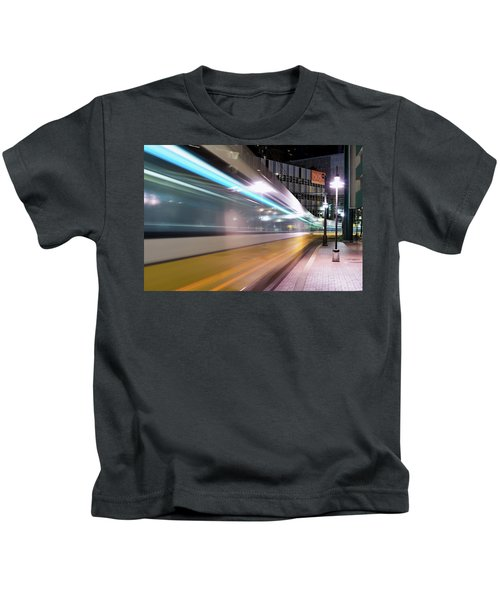 Dallas Dart Motion 012618 Kids T-Shirt