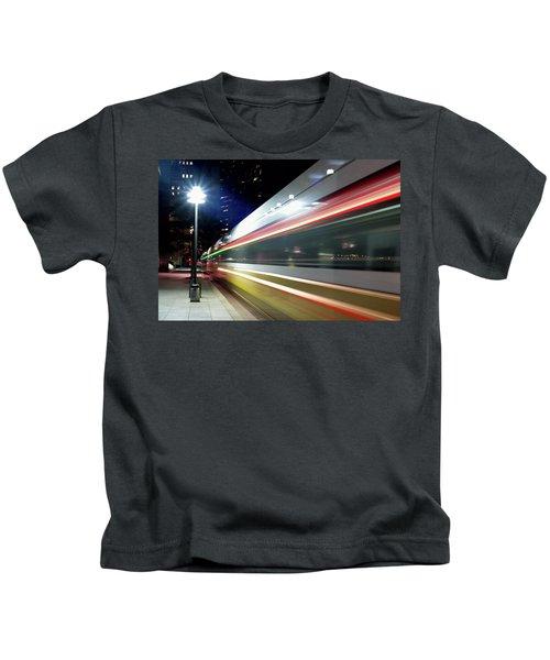 Dallas Dart Train 012518 Kids T-Shirt
