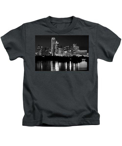 Dallas Nights Bw 6816 Kids T-Shirt