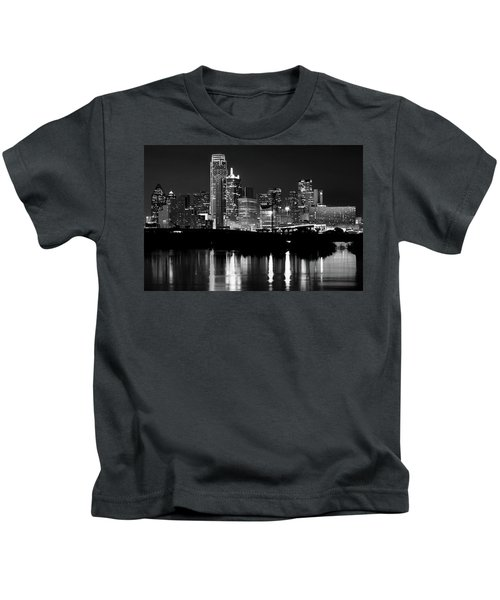 Dallas Nights Bw 6816 Kids T-Shirt