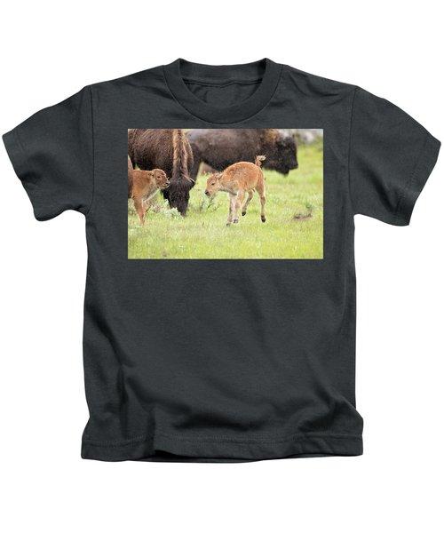 Dance In The Rain Kids T-Shirt