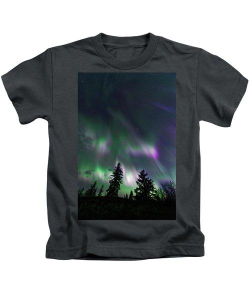 Dancing Lights Kids T-Shirt