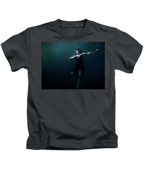 Dancing Under The Water Kids T-Shirt