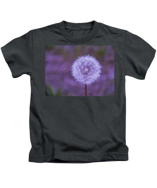 Dandelion Geometry Kids T-Shirt