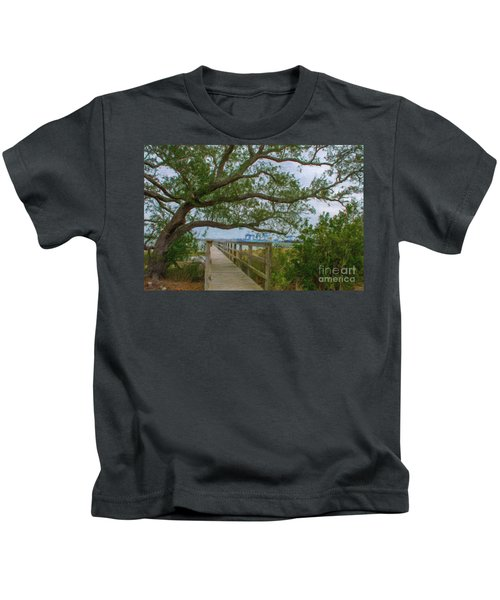 Daniel Island Time Kids T-Shirt
