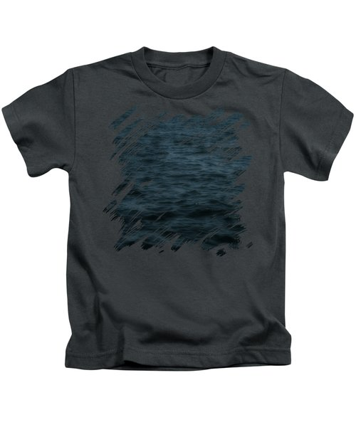 Dark And Stormy Thoughts Kids T-Shirt