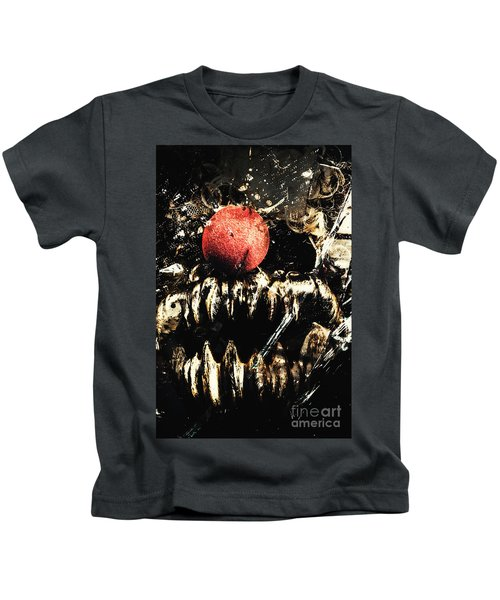 Dark Carnival Art Kids T-Shirt