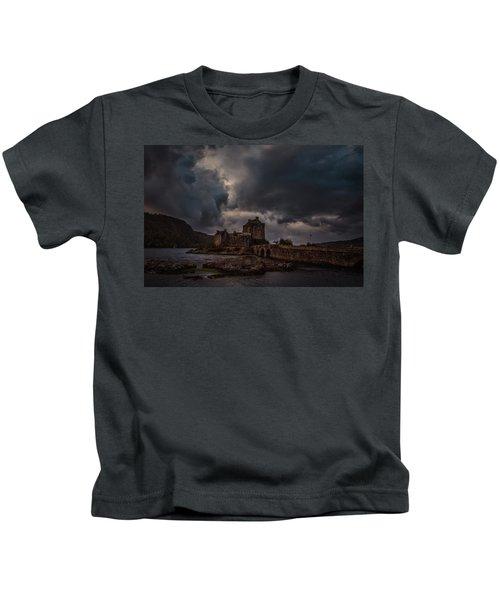 Dark Clouds #h2 Kids T-Shirt