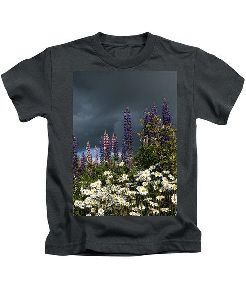 Dark Clouds Kids T-Shirt